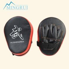 Compare Prices For Oem 2X Boxing Mitt Mma Jab Focus Punch Pad Training Glove Karate Muay Thai Kick