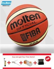 Official Molten Basketball Balls Gg6 Size 6 Pu Material Basketball Ball Outdoor Indoor Training Ballon Free With Net Bag+ Pin And Inflator By Pico Sports.