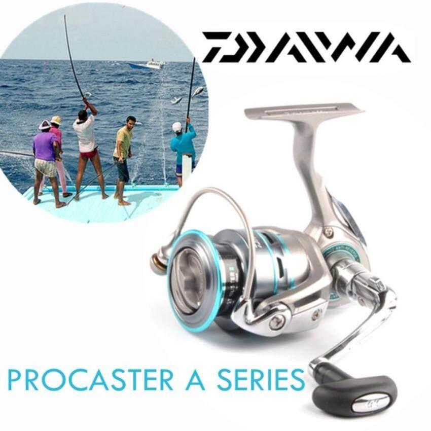 Asli Daiwa Procaster 2000A 2500A 3000A 4000A 7BB Saltwater Carp Pengumpan + Spare Logam Spul Pemintal Penggulung Pancing (4000)