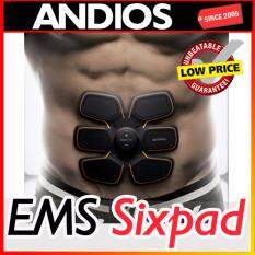 Original Ems Muscle Abs Fitness Trainer 6-Pad Absfit Sixpad Gym Sport By Andios.