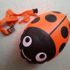 Outdoor Double Air Bag Safety Lifesaving Swimming Bag Adult Children Float Equipment Ladybird Style Color:yellow By Small Yellow Duck.