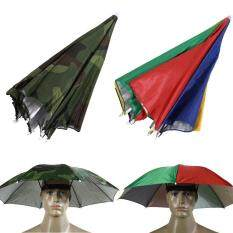 Outdoor Foldable Sun Umbrella Hat Golf Fish Camp Headwear Cap Head Hats Shade By Airforce.