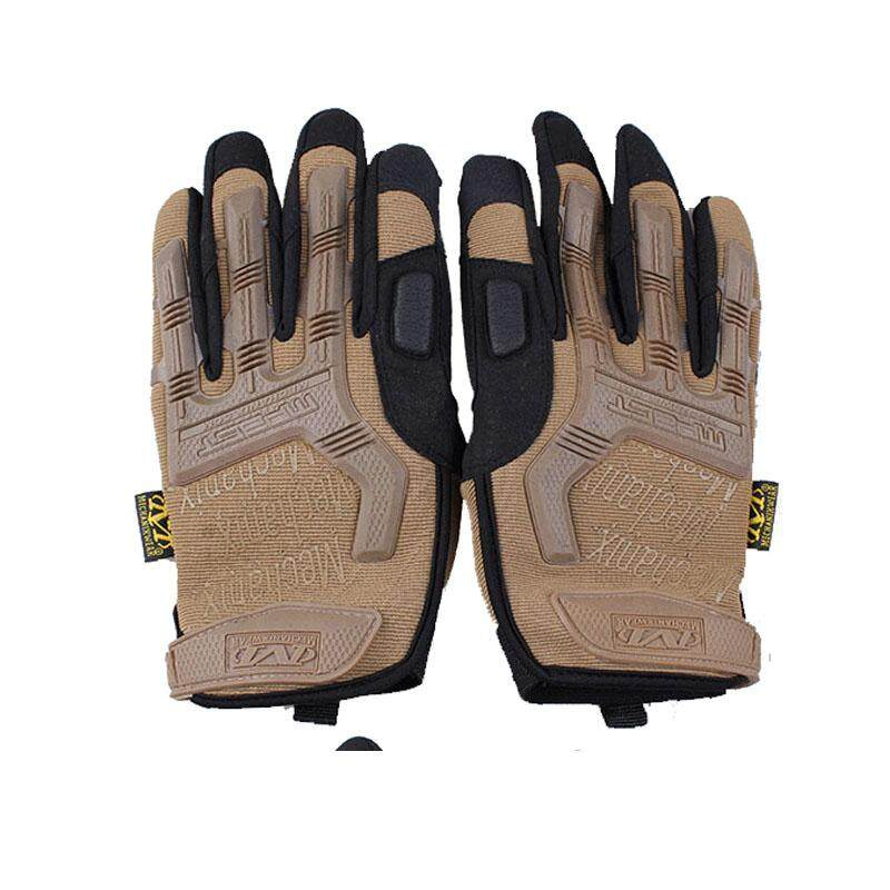 Outdoor Hiking Camping Safety Gloves Super Technician Full Finger Tactical Cycling Riding Waterproo