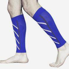Hình ảnh Pair Support Graduated Compression Leg Sleeve Exercise Protector Sport Socks