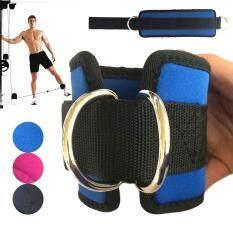 Hình ảnh PAlight 1 Pair Ankle Cuffs Resistance Elastic Bands Training Pilates Workout Gym