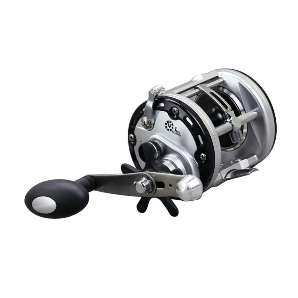 PAlight 12+1BB Drum Fishing Reels Bait Casting Right Hand Surfcasting Reel (size:JCA300) () - intl