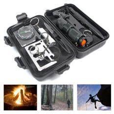 Hình ảnh PAlight Outdoor Survival Kit Tool Multifunctional Wild First Aid Set SOS Emergency Supplies
