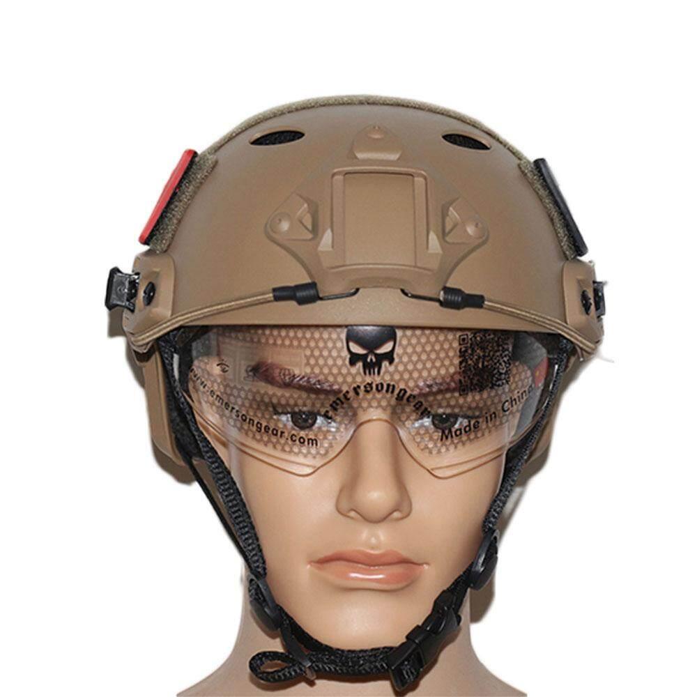 PJ Gaya Helm Headware Pelindung Taktis Militer Luar Ruangan Topi Bersepeda-IntlIDR355000. Rp 355.000