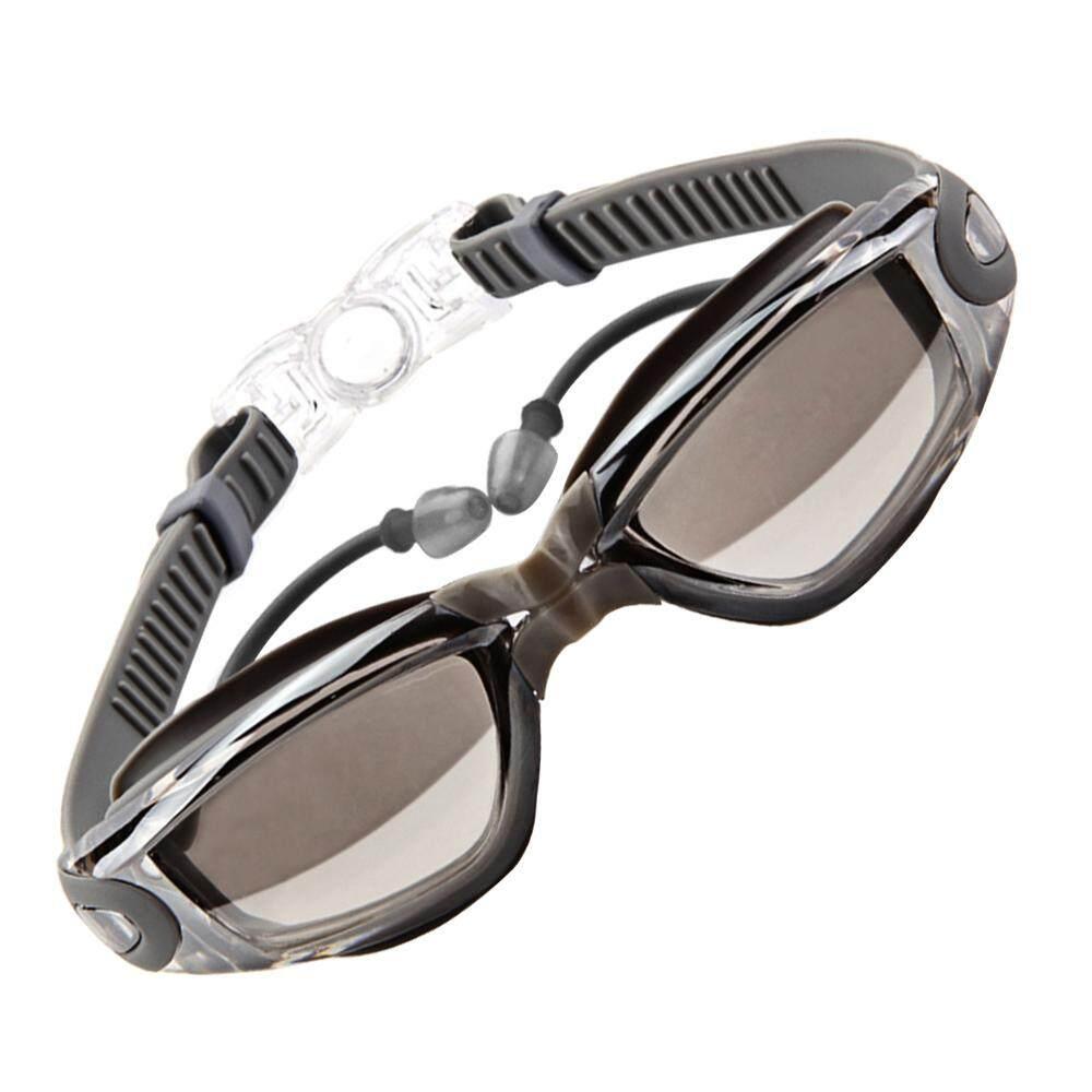 LD Pro Pelapisan Buah Lensa UV Perlindungan Anti Kabut Dapat Disesuaikan Berenang Kacamata Renang Kacamata dengan