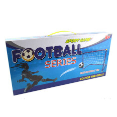 Portable Folding Football Door Set Outdoor Indoor Toy By Sportschannel.