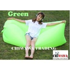 Portable Inflatable Picnic Air Sofa Square-headed Lazy Couch Camping Hiking Sleeping Bag Air Bed
