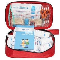 Hình ảnh Portable Outdoor Waterproof Travel Medical Emergency Wilderness Survival Rescue First Aid Kit Bag