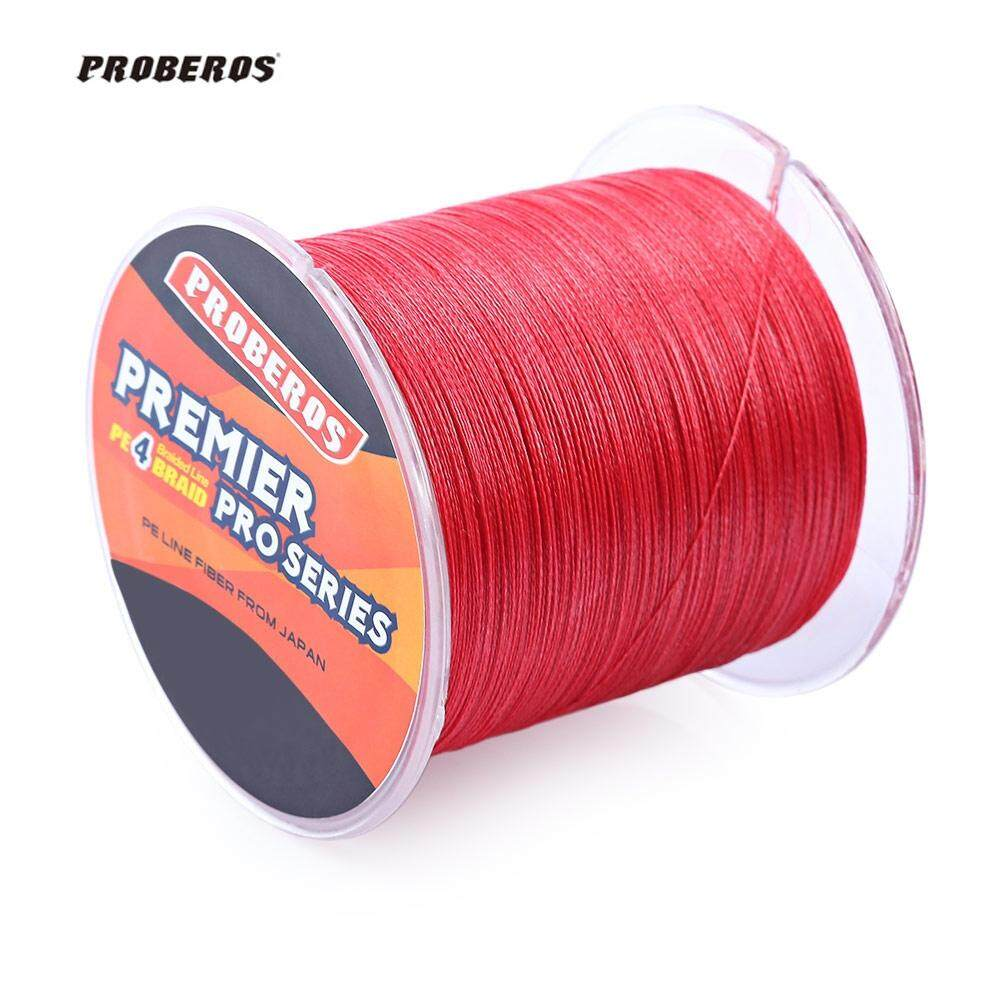 Retail Price Proberos 8Lbs 500M Durable Colorful Pe 4 Strands Monofilament Braided Fishing Line Angling Accessory Intl