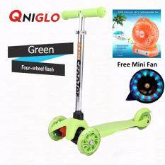 Qniglo Young Style Foldable Wheel Balance Kick Scooter With Flash Wheels By Qniglo Sdn Bhd.