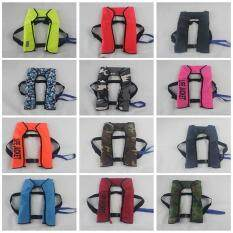 Quality Tpu 5s Automatic Inflatable Lightweight Life Jacket Slim Inflate Survival Aid Lifesaving Pfd Fit For Adult And Youth (gas Cylinders Not Include) Color:multicolor(qimiao) By Fashion Cabinet.