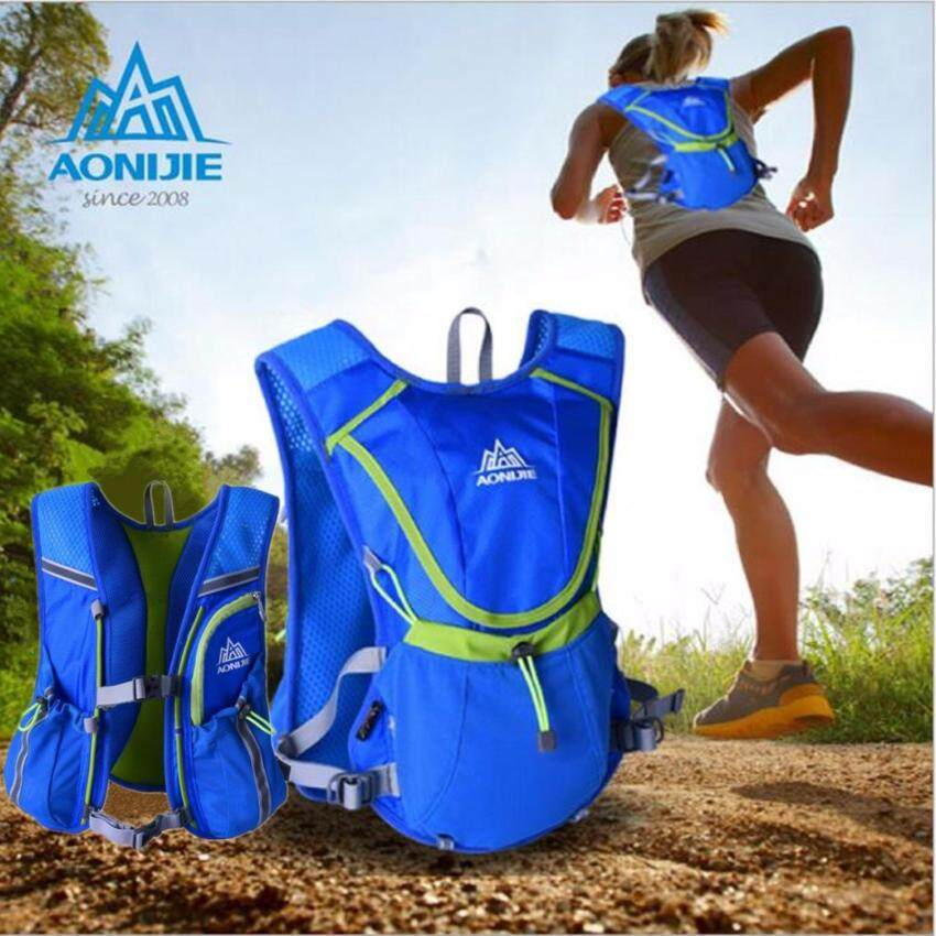 NiceCare [ Quick Delivery ] AONIJIE unning Cycling Vest Backpack Sports Camping Hydration Water Bladder Bag