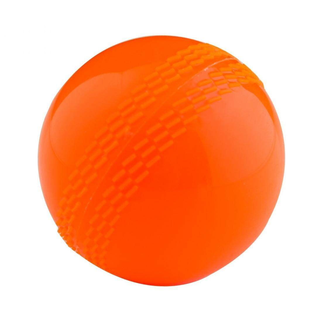 Charles Town Cricket Pelatih Poly Bola-Orange, 125g-Intl By Shoppingmadeeasy.