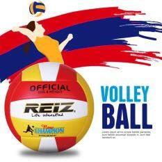 Hình ảnh REIZ PU Volleyball Professional Soft Volleyball Indoor & Outdoor Training Ball