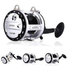 Qimiao Right-handed Strong Metal 12+1BB Ball Bearings Drum Fishing Reel Bait Casting Wear-resisting Boat/Beach/Ocean Fishing Wheel Specification:Model 300