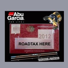 Road Tax Sticker Abu Garcia (black) By Betta Creative.