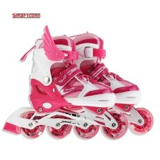 Mua Roller Skate Shoes For Kids Inline Skates Daily Street Brush Skating Girls Boys Adjustable Roller Skates (Size:S)