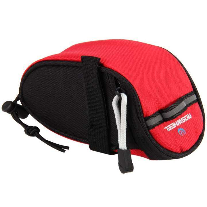 Roswheel 13567 Bike Bicycle Saddle Bag Seat Bag Tool Pouch Pack with Velcro Strap