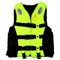 Safety & Survival Camping & Hiking Boat Work Outdoor Drifting Adult Life-saving Vest Waterproof Adjustable Reflective Jacket Safety Vest with Life Whistle