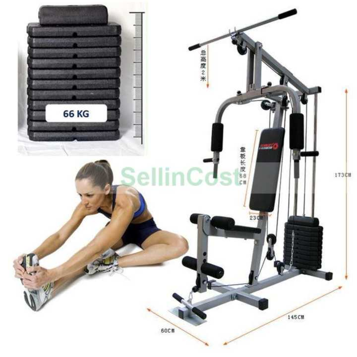 Sellincost kg weight stack multi function home gym