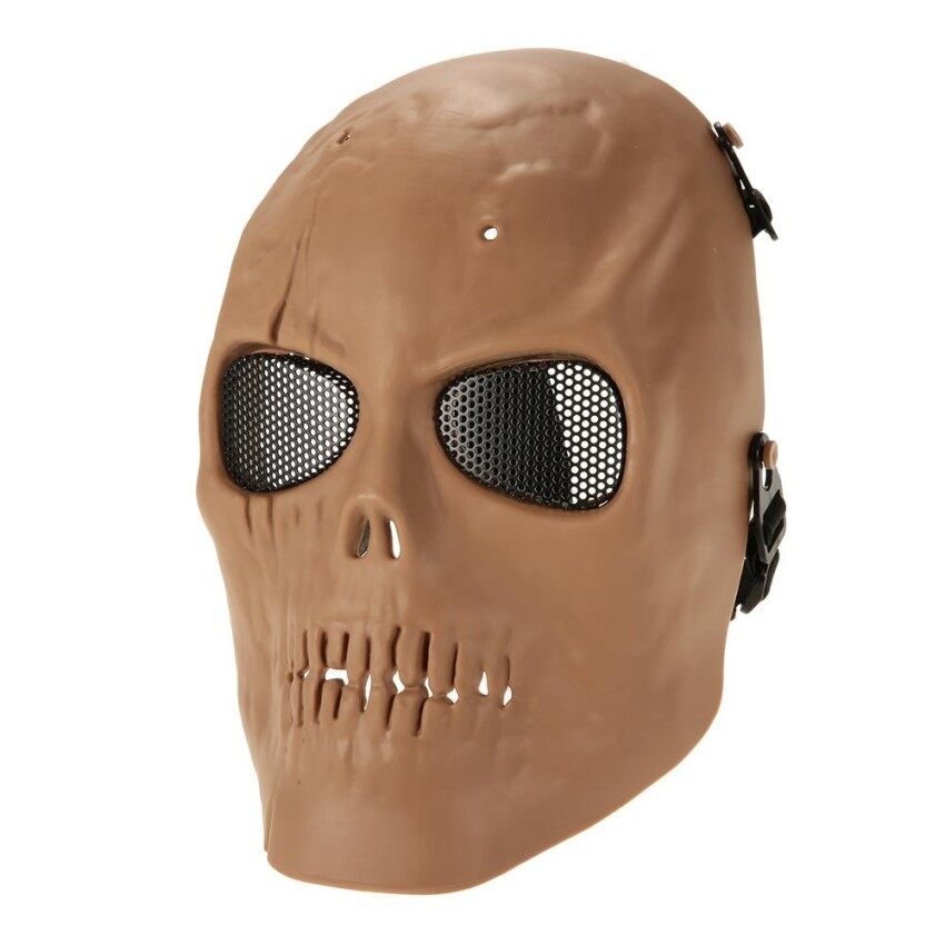 Sheng HOTT Taktis Airsoft Masker Masker Kostum Wajah Penuh Luar Ruangan Protectiveface Topeng untuk Airsoft Permainan