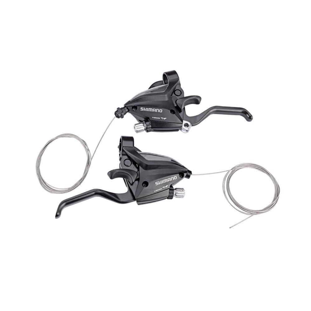 Mua Xe Đạp Shimano MTB Chuyên Nghiệp Phanh Sang Số Bộ Phanh Đòn Bẩy & Dịch Chuyển Đòn Bẩy EF500-7 3X7 S