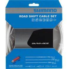 Shimano Dura-Ace OT-SP41 Polymer-Coated Derailleur Cable White, One Size