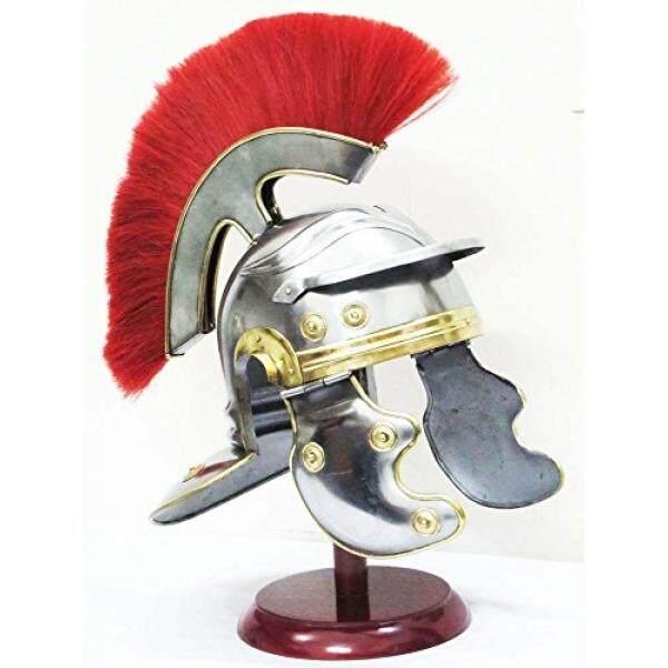 Shiv Shakti Perusahaan Abad Pertengahan Perwira Romawi Galia Helm Spartan Bahasa Yunani Knight Sugarloaf Crusader-Intl