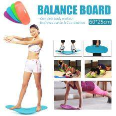 Simply Keep Fit Yoga Balance Workout Twist Board Ab Toner Bonus Unisex Fitness Blue By Freebang.