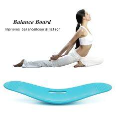 Simply Keep Fit Yoga Balance Workout Twist Board Ab Toner Bonus Unisex Fitness Purple By Elec Mall.