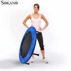 Sokano 38 Inches Trampoline For Fitness And Heath Training- Blue By Sokano Shop.