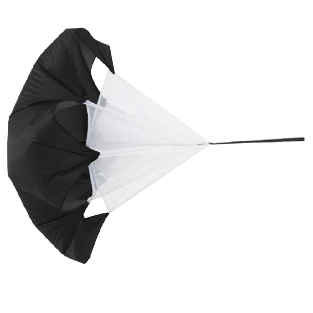 Beli sekarang Speed Training Resistance Parachute Power Running Aid (Black) terbaik murah - Hanya