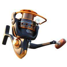 Spinning Fishing Reel 12+1 Bearing Balls  Fishing Reel with Left Right Convertible Metal Rocking Bar AX6000