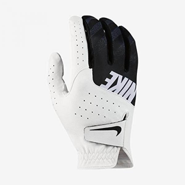 나이키 Sport Golf Gloves 2017 White/Black Small Left Hand (Junior) - intl