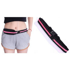 Sports Outdoor Running Multifunctional Anti-Theft Invisible Mini Small Belt Bag Pink By Miss Lan.