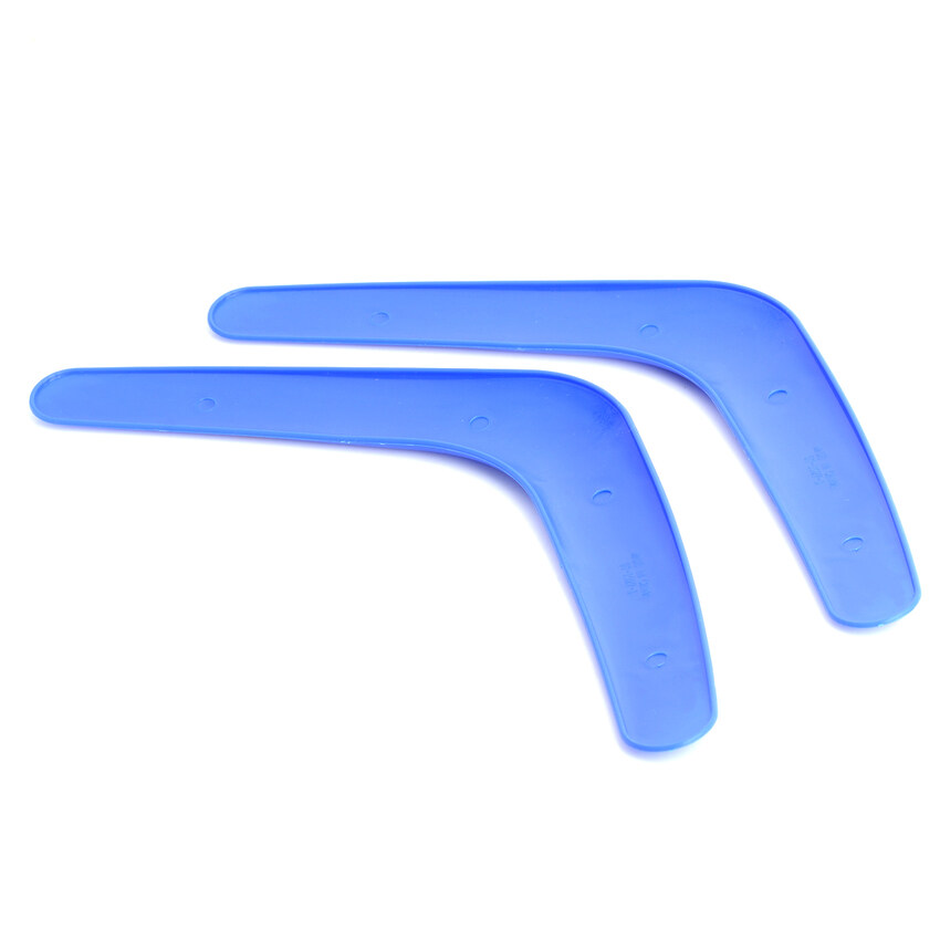 Huade Sports V-Style Outdoor Flying Boomerang - Blue (2 Pcs) - Intl By Huade Store.