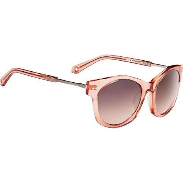 Spy Optic Unisex Mulholland Lensa Bahagia Koleksi Kacamata Hitam Melon/Perunggu Memudar dengan Cermin Perak, satu Ukuran Cocok untuk Semua-Intl