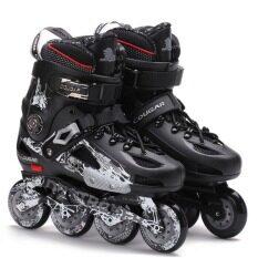 Inline Skates Professional Slalom Adult Roller Skating Shoessliding ... d86fab6356