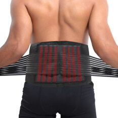Stabilizing Lumbar Lower Back Brace And Support Belt With Dual Protection Belt Adjustable Straps And Breathable Mesh Panels Size Xl By Wonderful U Store.