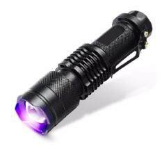 Stable Cree Q5 Flashlight Uv Led Light Torch Uv Lamp By Stable Wallet.