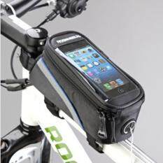 Sunnyshopwaterproof Cycling Bike Bicycle Front Frame Pannier Tube Shock Absorption Padded Bag Case For Cell Phone By The Sunnyshop.