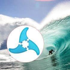Surfboard Fins Honeycomb Fiberglass Surf Board Fins G3 / G5 / G7 Surf Fins Surfing Thruster By Tomtop.