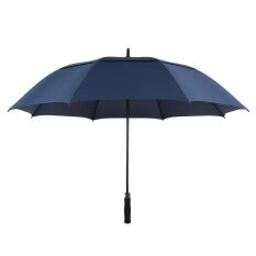 Tomshoo 61 Inch Oversized Automatic Auto Open Golf Umbrella Outdoor Extra Large Double Canopy Ventilated Windproof Stick Umbrella By Electronic Top.