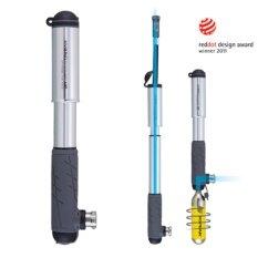 TOPEAK HYBRID ROCKET HP 160psi Dual c02 and pump HIGH PRESSURE