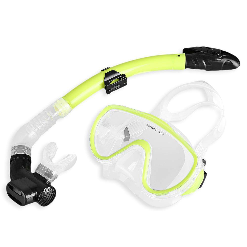 Ttio Professional Diving Mask Goggle Snorkel Tube Set Intl On Line