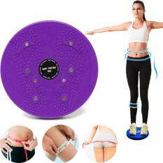 Twist Waist Torsion Disc Healthy Massage Board Aerobic Exercise Fitness Magnetic Purple By Audew.